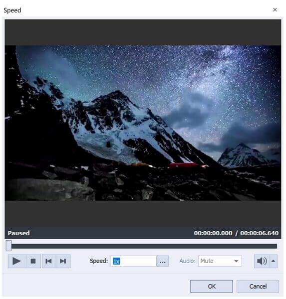 avs video editor speed