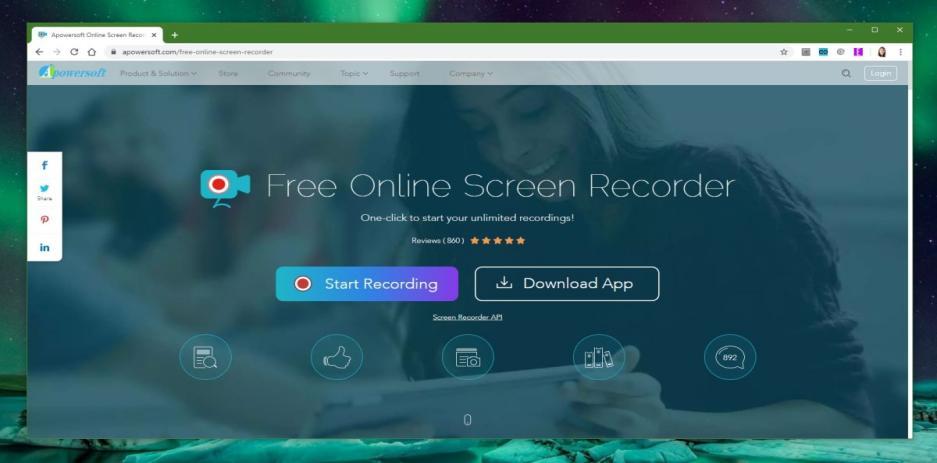 best online screen recorders apowersoft recorder