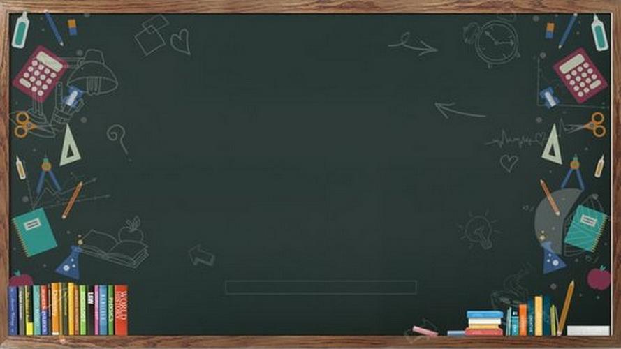 blackboard backdrop idea