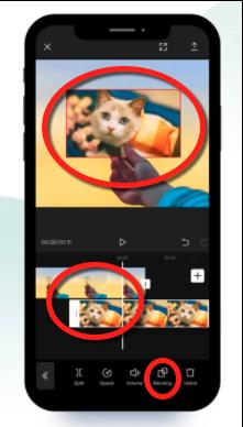 free tiktok video editing app to blend videos - capcut