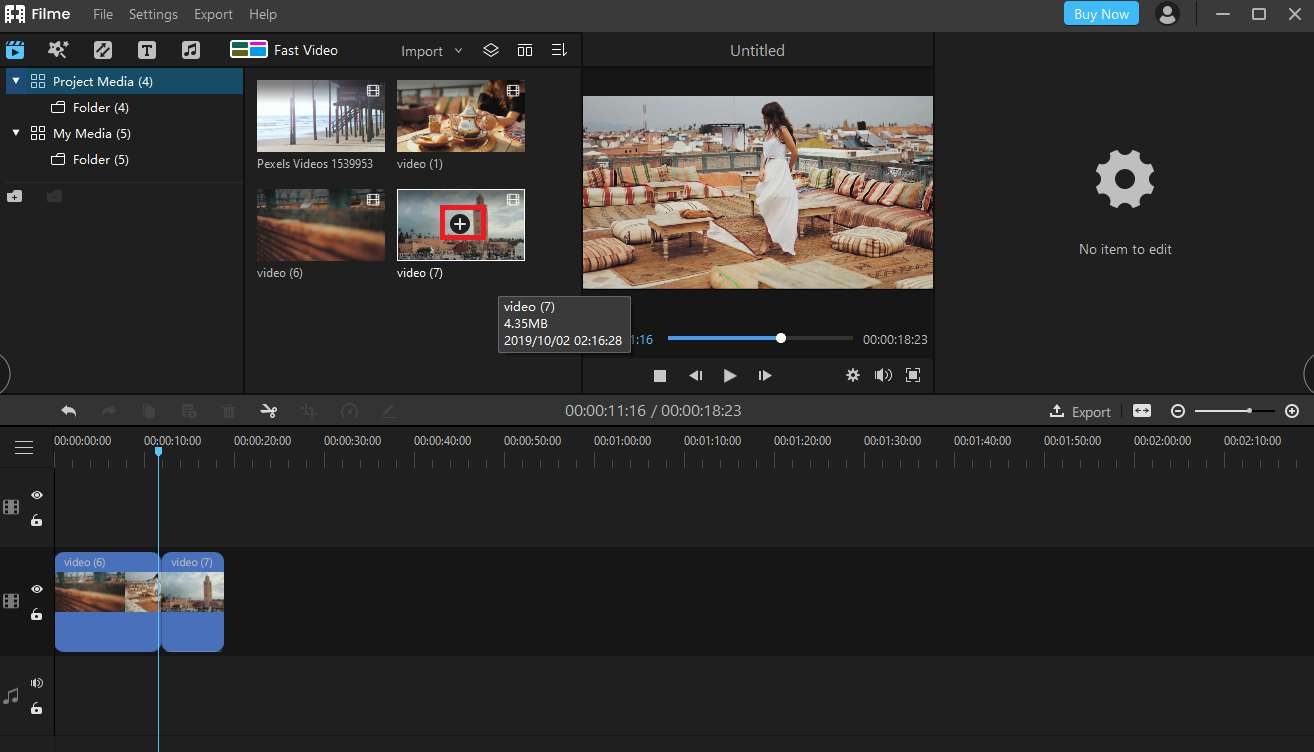 How to Adjust Video Brightness with Filme
