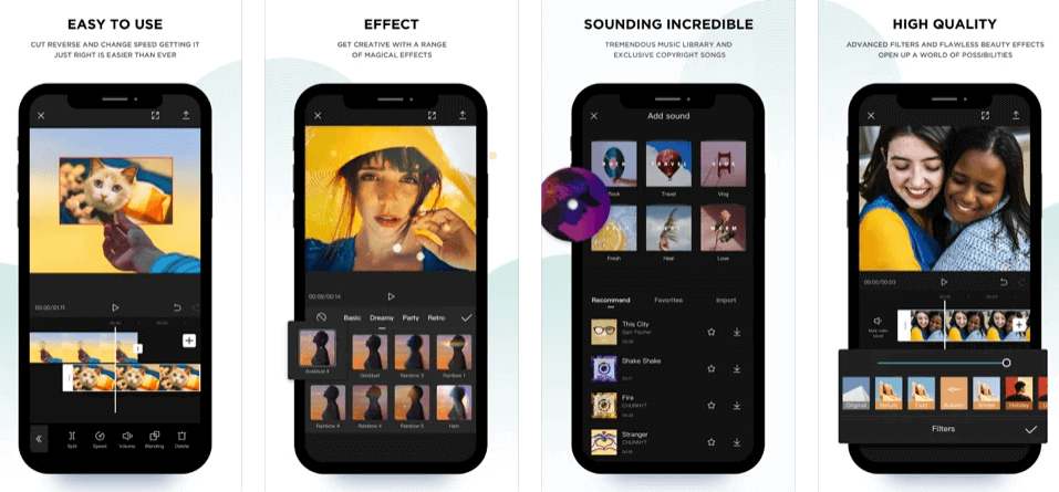 free all-in-one video editor app for tiktok videos