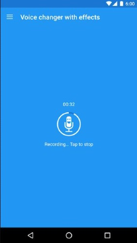 change voice discord voice recording android