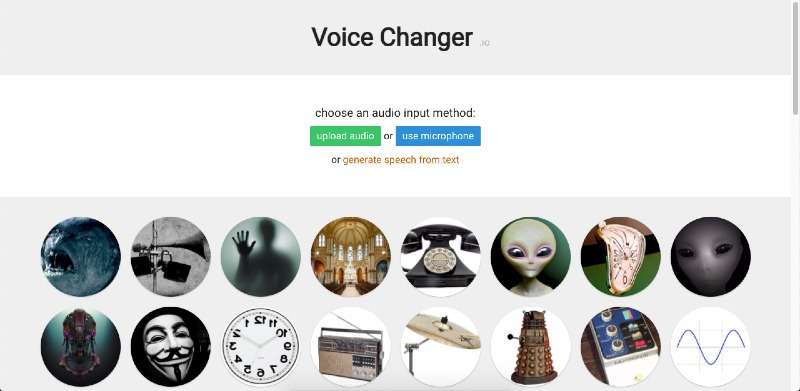 how to make chipmunk voice online and save audio
