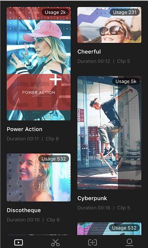 select slideshow template