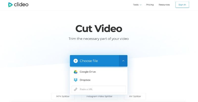choose the file