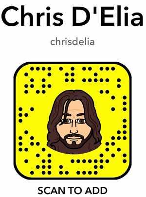 chris delia snapcode