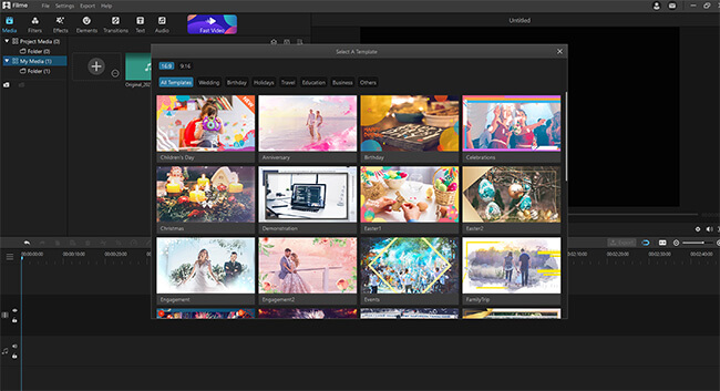 click fast video mode logo