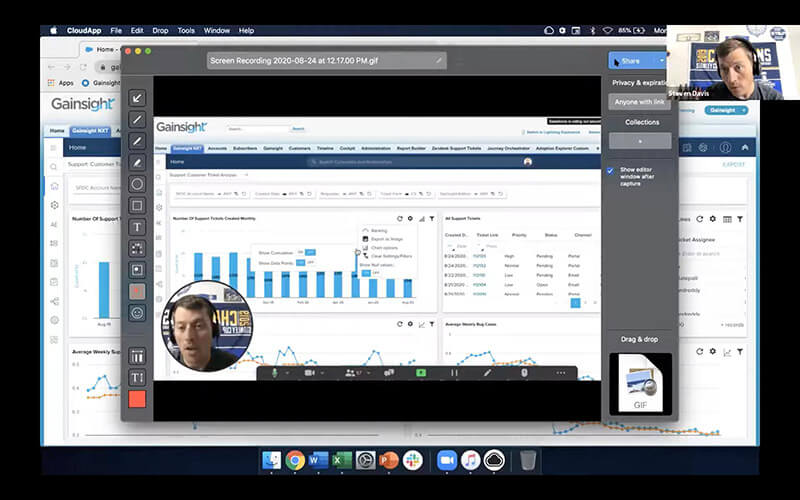 cloudapp live screen recorder