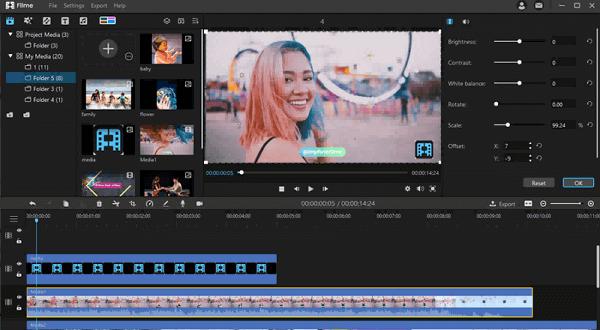 convert videos in filme