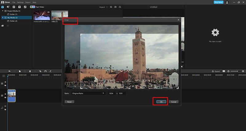 import video in Filme