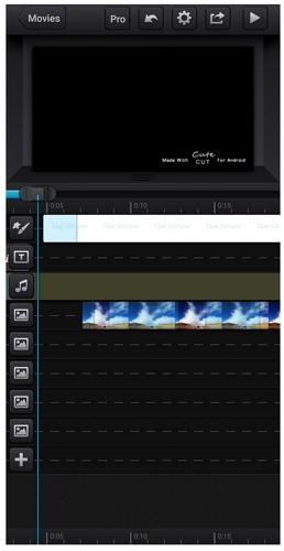 Cute CUT video editor