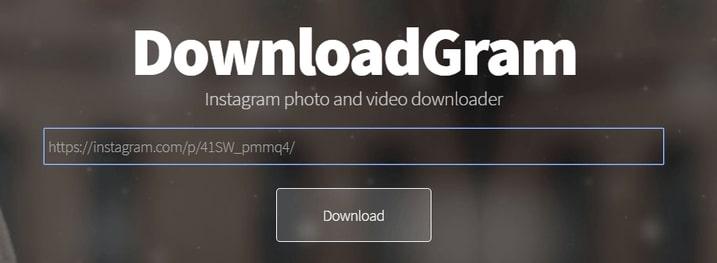 DownloadGram IGTV Downloader