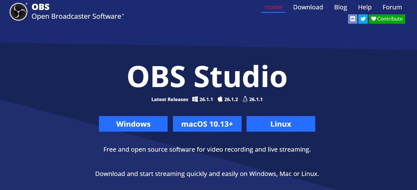 downloading and installation obs