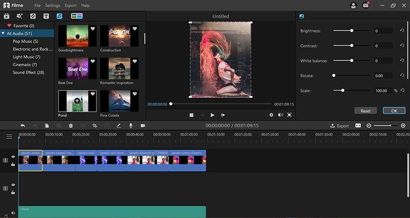 edit photos filme