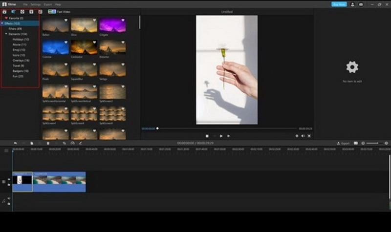 edit a video using iMyFone Filme step 3