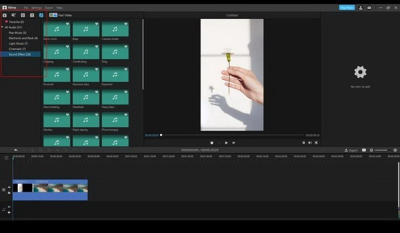 edit a video using iMyFone Filme step 4