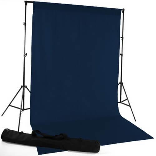 fabric backdrop idea