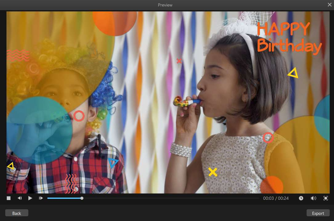 How to Make a Birthday Slideshow on Facebook with Filme