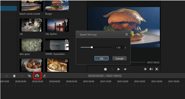 filme speed up video