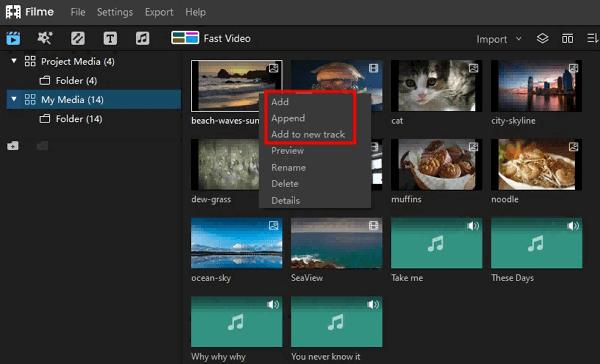 add gif to video filme add audio