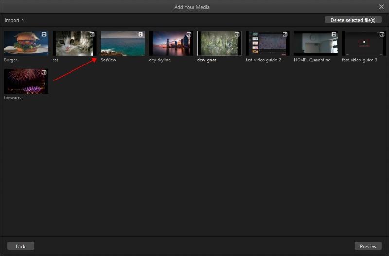 filme files preview