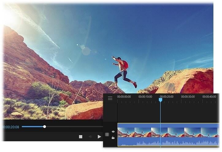 filme settings interface for vlogging