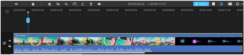 filme splitting video