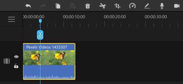 filme timeline layers