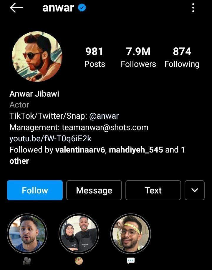 best igtv channel anwar jibawi