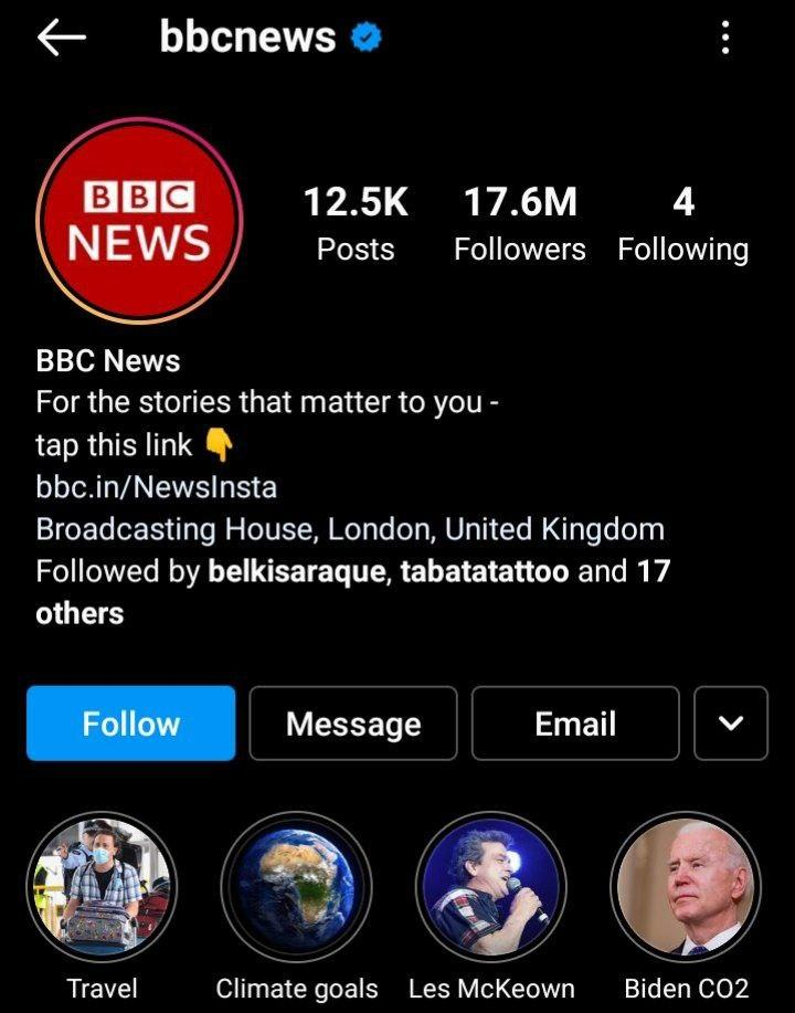 best igtv channel bbc