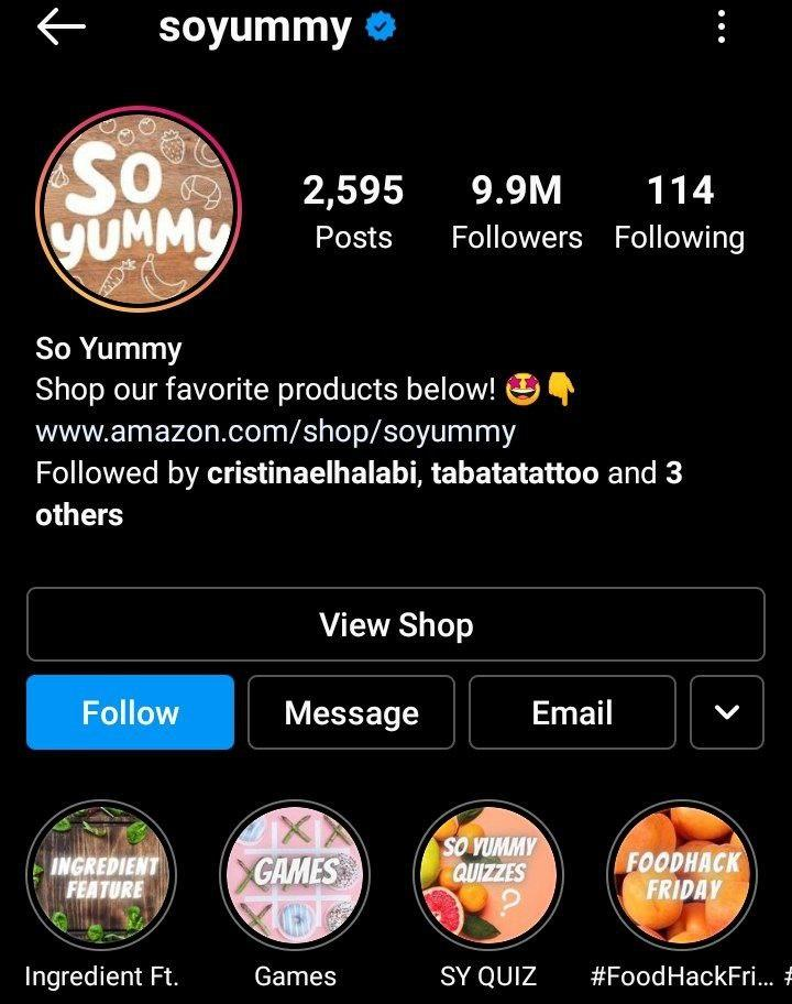 best igtv channel soyummy