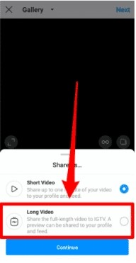 upload video to channel method 1