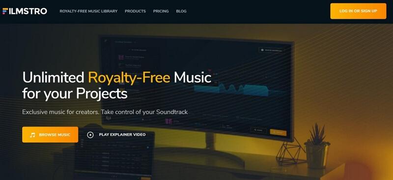 filmstro royalty free music