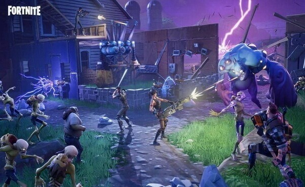 fortnite video game interface