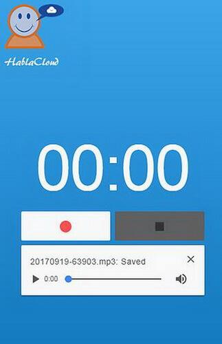 hablaclouds app recorder