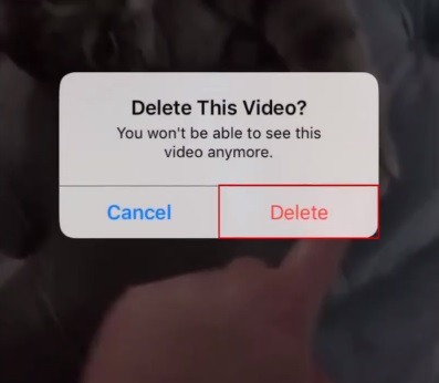 how to delete an igtv video3