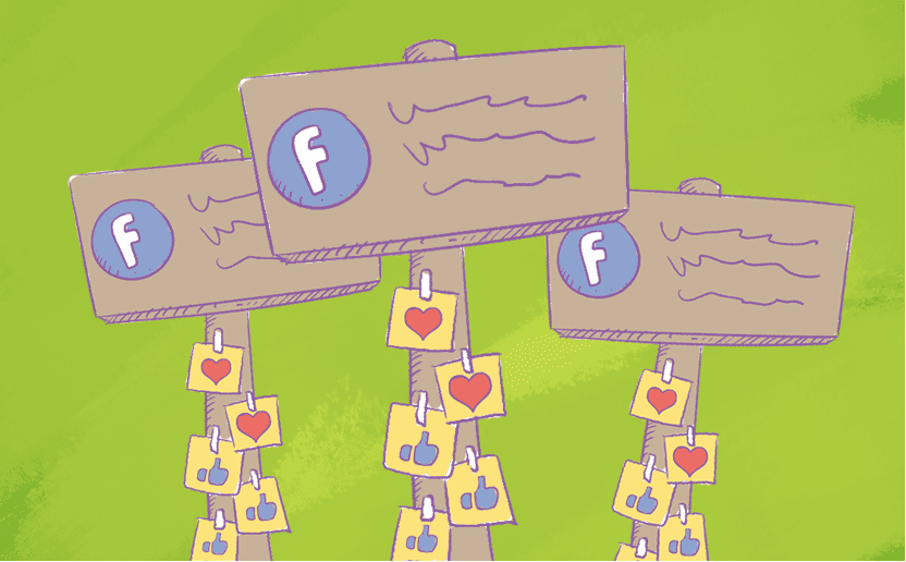 how to make a slideshow-on facebook