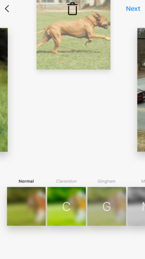 how to post slideshow on instagram