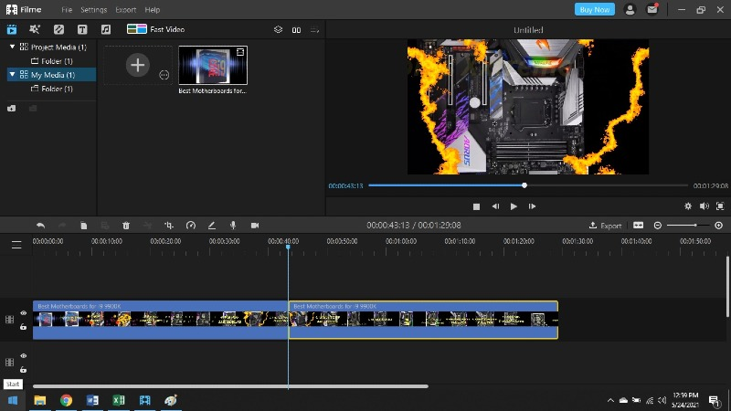 how to trim and crop video