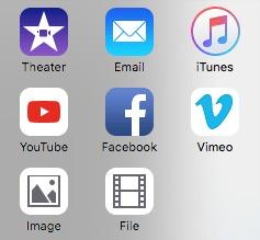 imovie file option