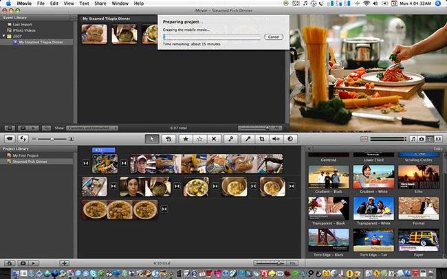 imovie slideshow maker
