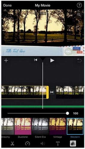 imovie video editor app