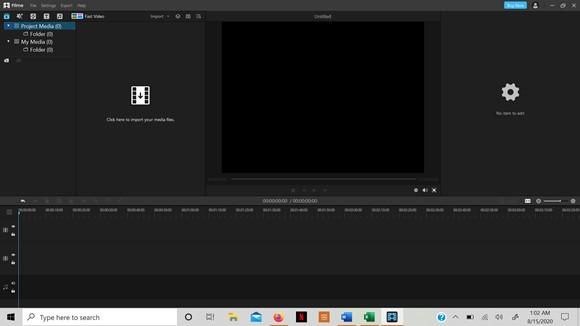 import file filme