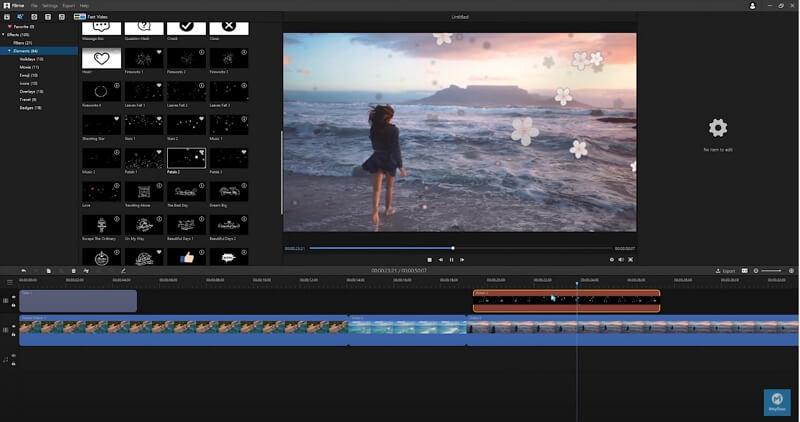 imyfone filme editing screenshot