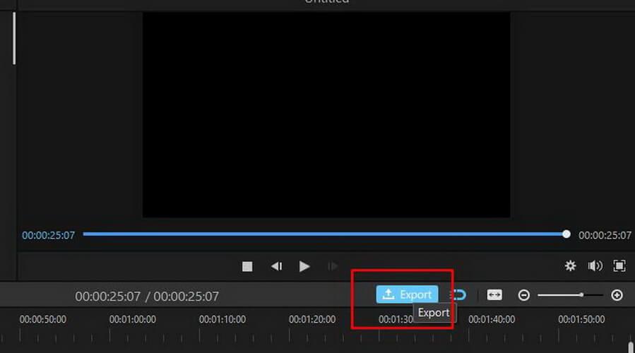 imyfone filme export video