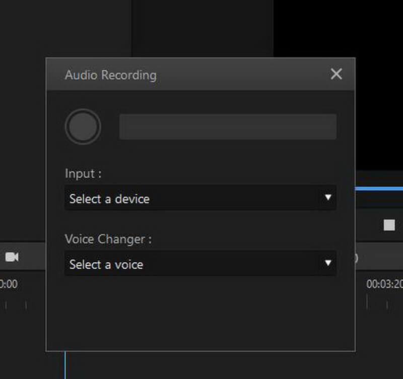 imyfone filme input option menu