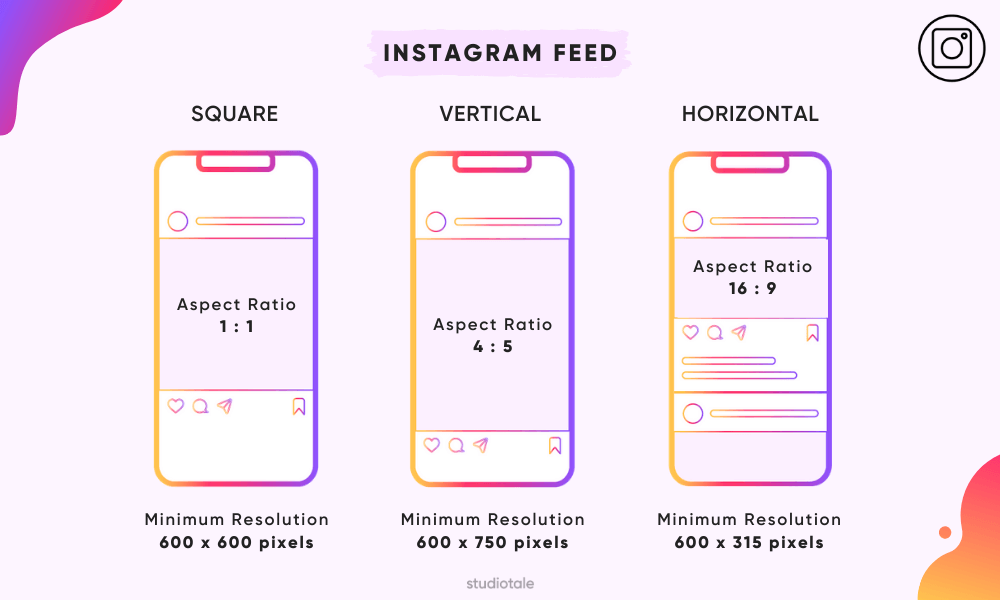 instagram feed video format new