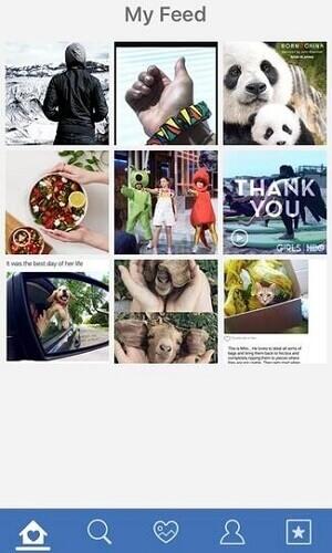Instagram Repost Homepage