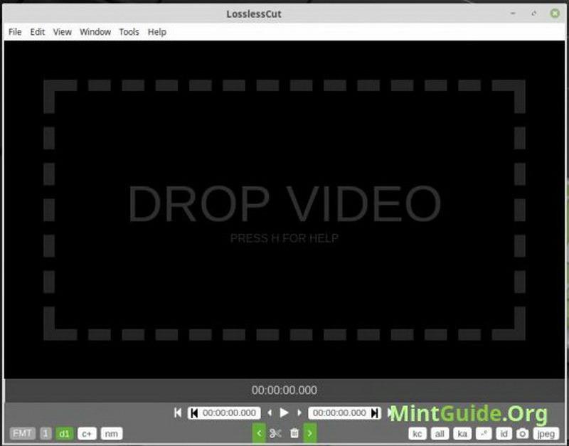 losslesscut  video editor